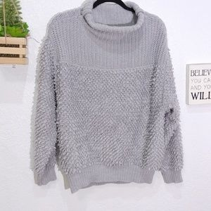 Wilfred Yarn Italy 100% wool textured cozy sweater